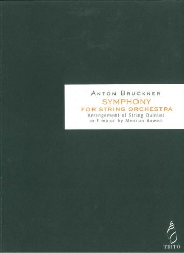 Sinfonía para cuerdas (Transcripción del Quinteto de cuerda en Fa mayor)