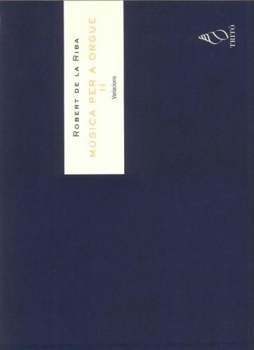 Musica per a orgue II - Variacions