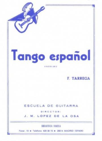 Tango español (anónimo)