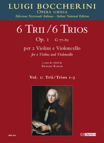 6 Trios Op. 1 (G 77-82) for 2 Violins and Violoncello, de Luigi Boccherini