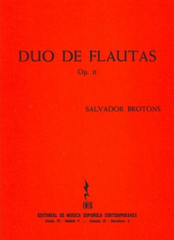 Duo de flautas op. 11