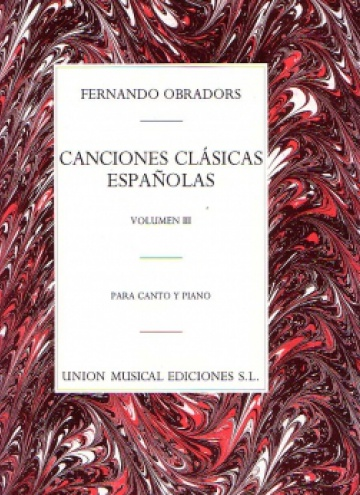 Classic Spanish Songs, III