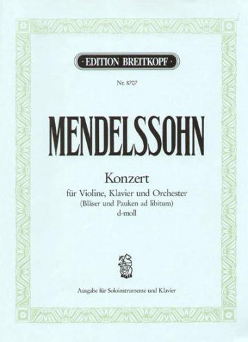 Concierto para violín, piano y orquesta de cuerda en re menor MWV O 4