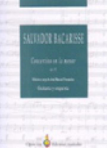 Concertino en la menor, op. 72 (partitura d'orquestra)