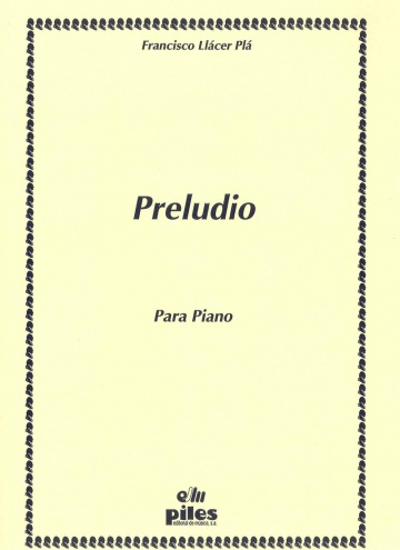 Preludio for piano