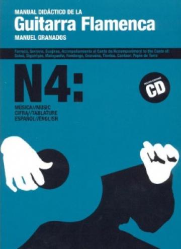 Manual didáctico de la Guitarra Flamenca vol.4