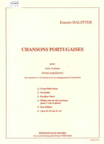 Chanson portugaise 1