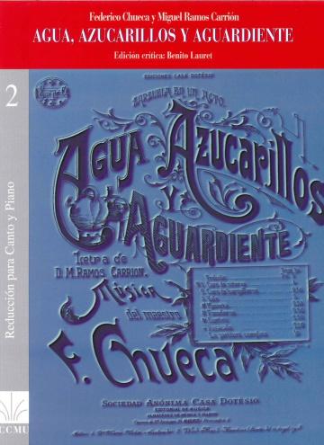 Agua, zicarillos y aguardiente (piano reduction)