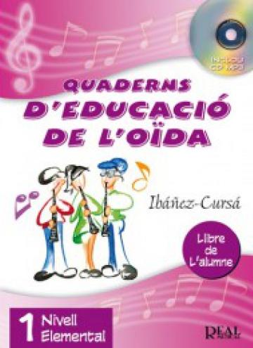 Quaderns d'educació de l'oida. 1 nivell elemental (amb CD)
