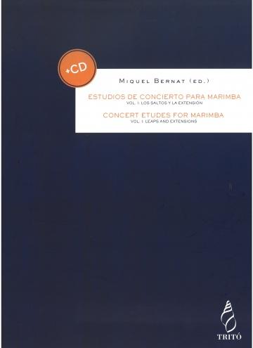 Estudios de concierto para marimba