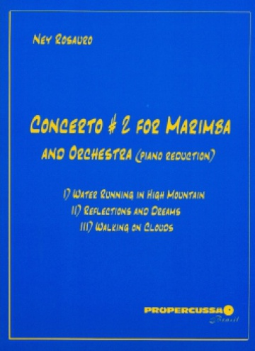 Concerto n. 2 for marimba and orchestra (piano reduction)