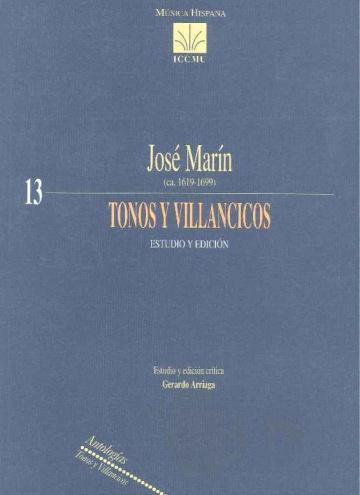 Tonos y villancicos. Study and edition.