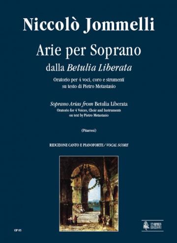 Betulia Liberata. Arias for Soprano , de Niccolò Jommelli