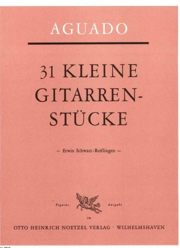 31 short studies for guitar