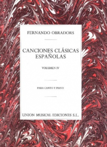 Classic Spanish Songs, IV