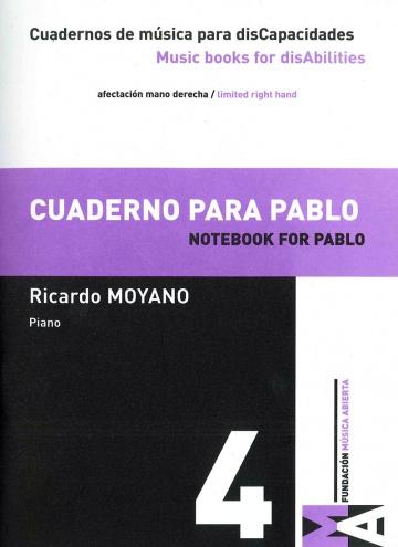 Cuadernos de Música para discapacidades vol 4 - Cuaderno para Pablo