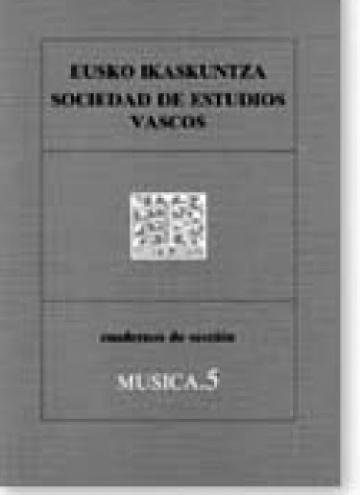 Cuadernos de sección. Música (5)