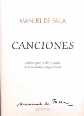 Canciones para violin y piano