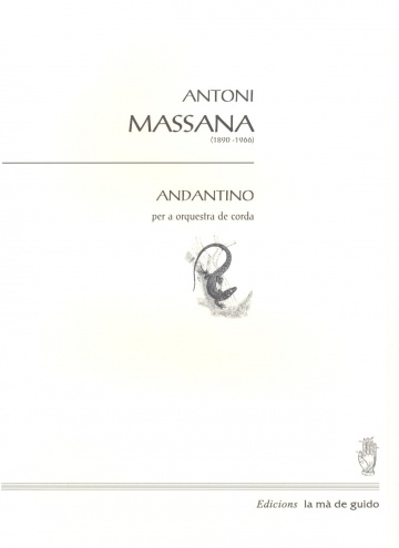 Andatino for string orchestra
