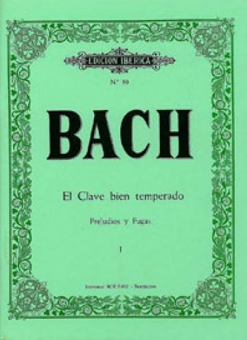 Preludios y fugas Vol.I, de Johann Sebastian Bach