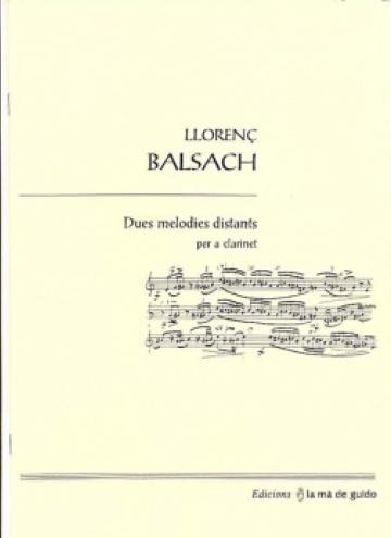 Dues melodies distants, per a clarinet
