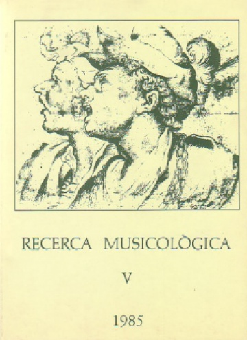 Musicological Research V