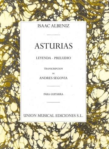 Asturias, para guitarra