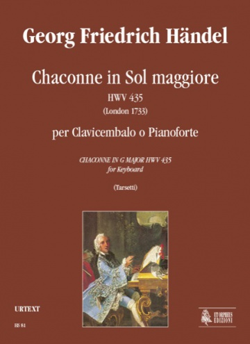 Chaconne in G maj HWV 435 (London 1733) for Keyboard, de George Frideric Handel