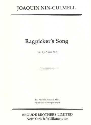 Ragpicker's Song (SATB)