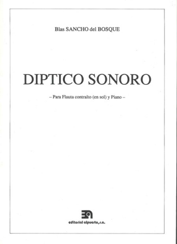 Díptico sonoro (para flauta travesera contralto en sol)