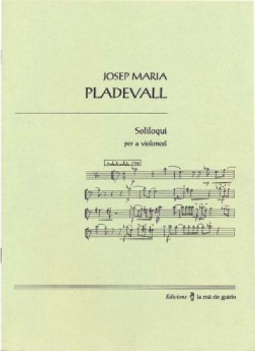 Soliloqui, for violoncello
