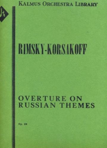 Obertura sobre temas rusos, op. 28