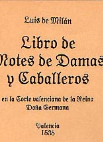 Libro de motes de damas y caballeros