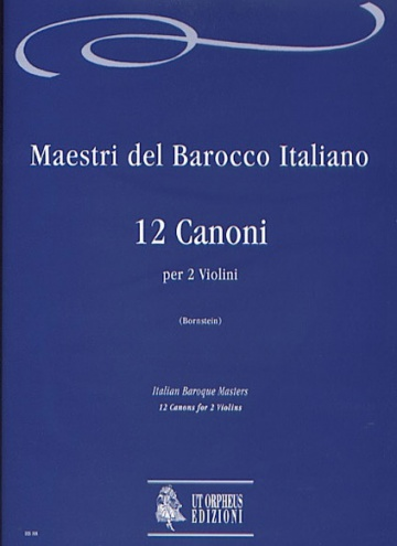 12 Canons for 2 Violins, de talian Baroque Masters