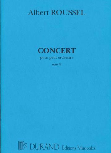 Concert per a petita orquestra, op. 34