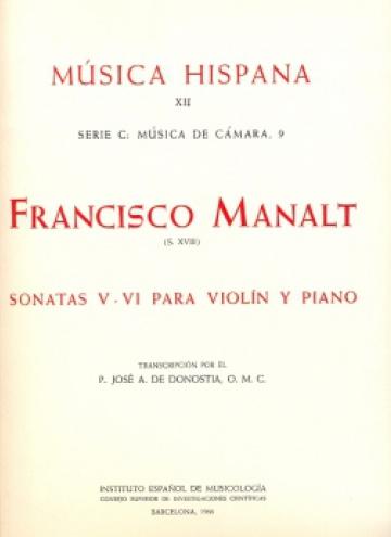 Sonatas V-VI para violín y piano