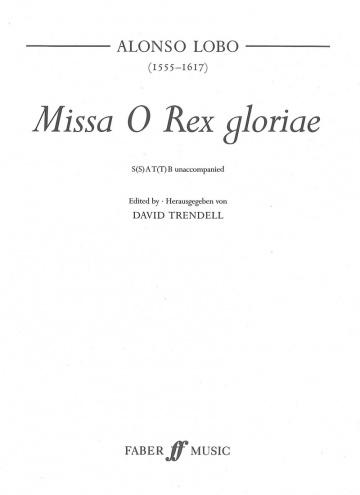 Missa O Rex Gloriae