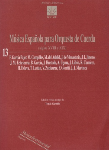 Spanish Music for String Orchestra