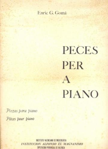 Peces per a piano