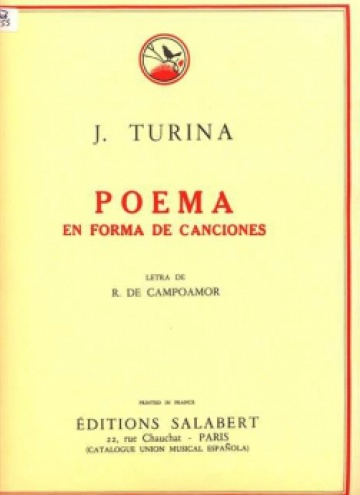 Poema en forma de canciones op. 19