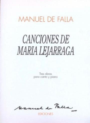Canciones de Maria Lejágarra