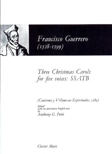 Tres villancicos de Navidad para cinco voces