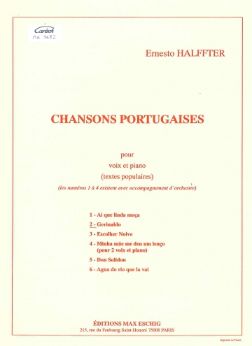 Chanson portugaise 2