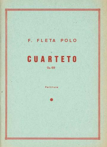 Cuarteto, op. 69
