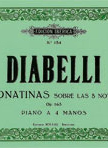 Sonatinas Op.163, de Antonio Diabelli
