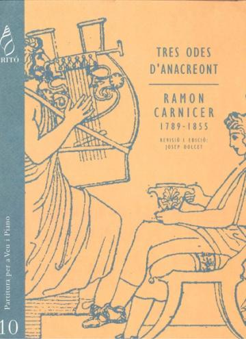 Tres Odes d'Anacreont