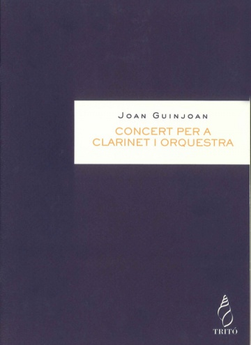 Concert for clarinet and orchestra (clarinet part)