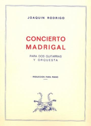 Concierto Madrigal (reducció per a piano)