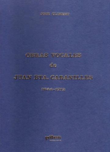 Obres vocals de J. B. Cabanilles