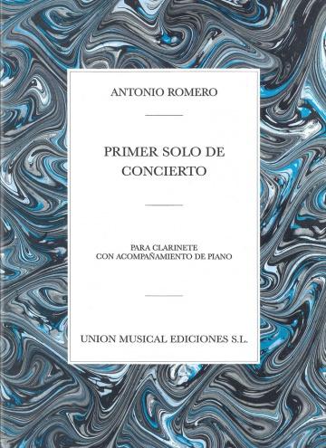 Solo de Concierto nº 1 para cl. y piano
